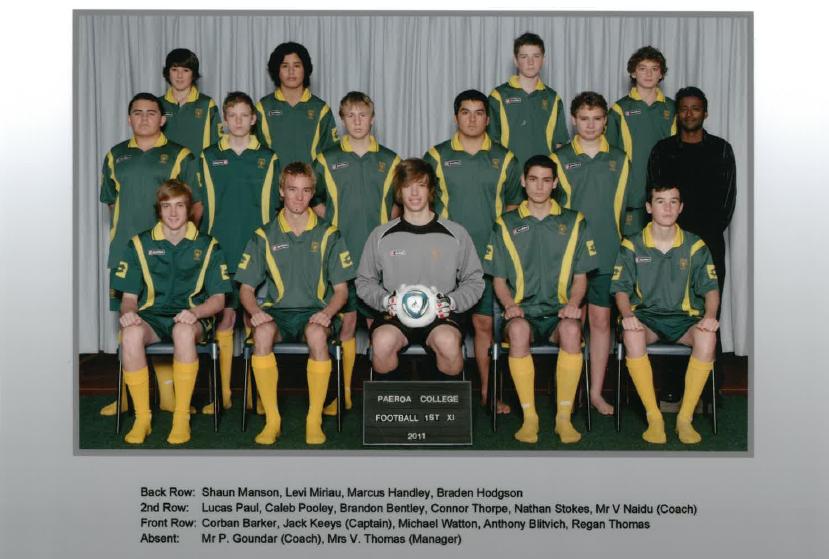 2011 1st Xi Football