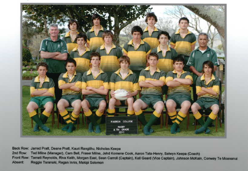2011 4th Grade Rugby