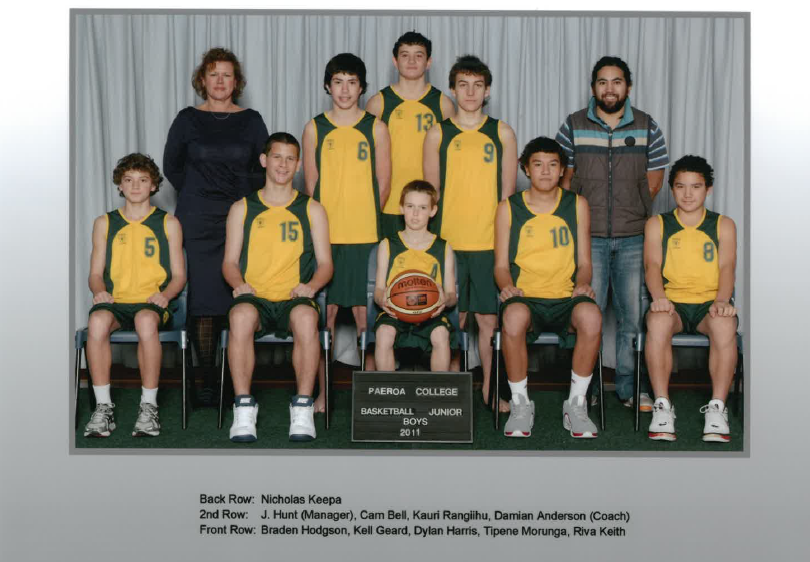 2011 Jnr Boys Basketball