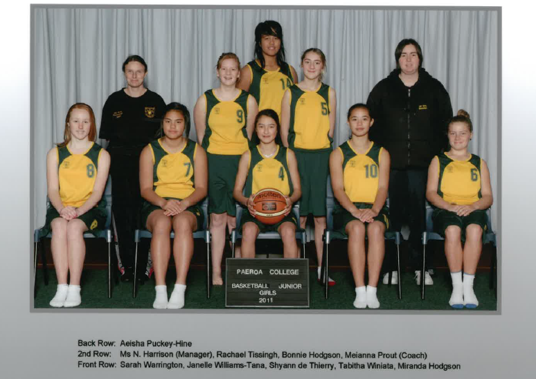 2011 Jnr Girls Basketball