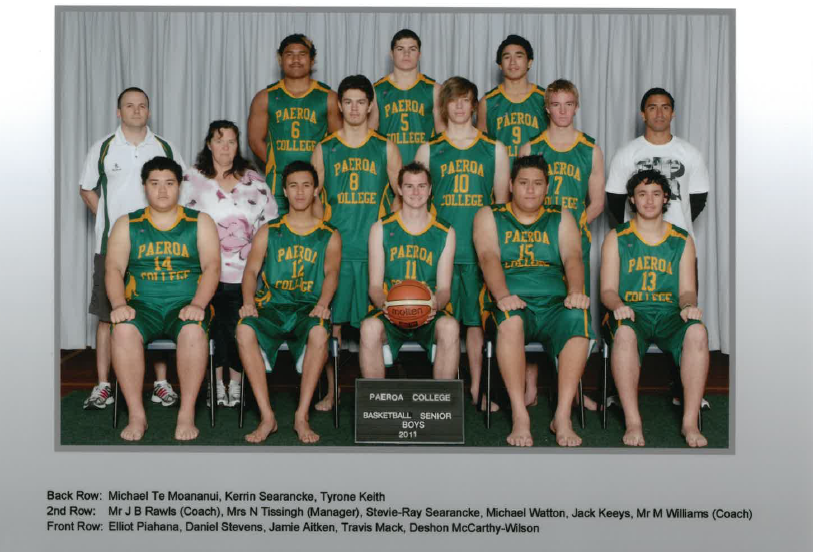 2011 Snr Boys Basketball