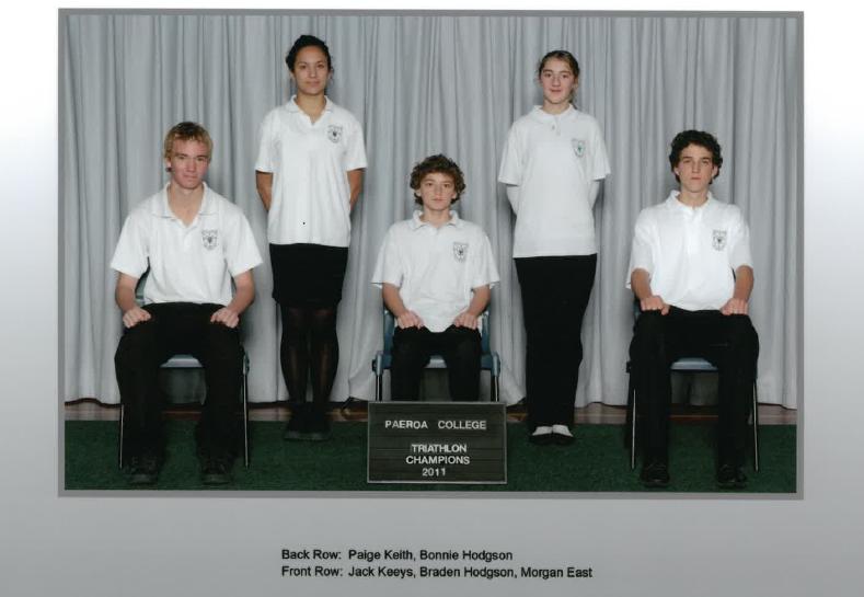 2011 Traithlon Champions