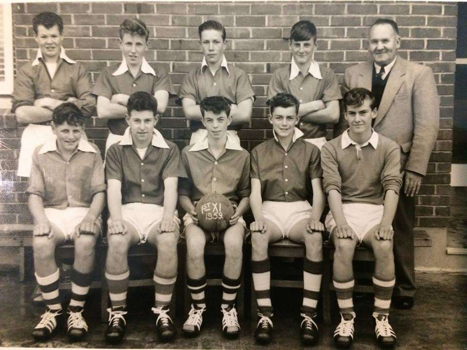 1959 Soccer First Xi