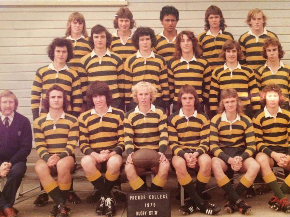 1976 Rugby First Xv Back