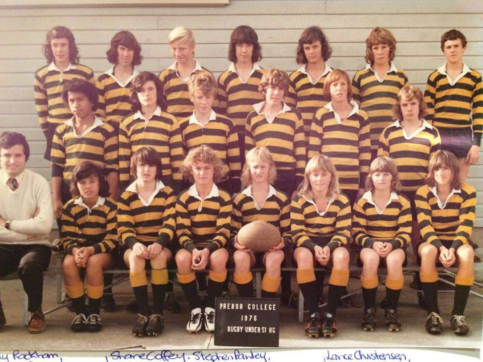1976 Rugby Under 51kg Back