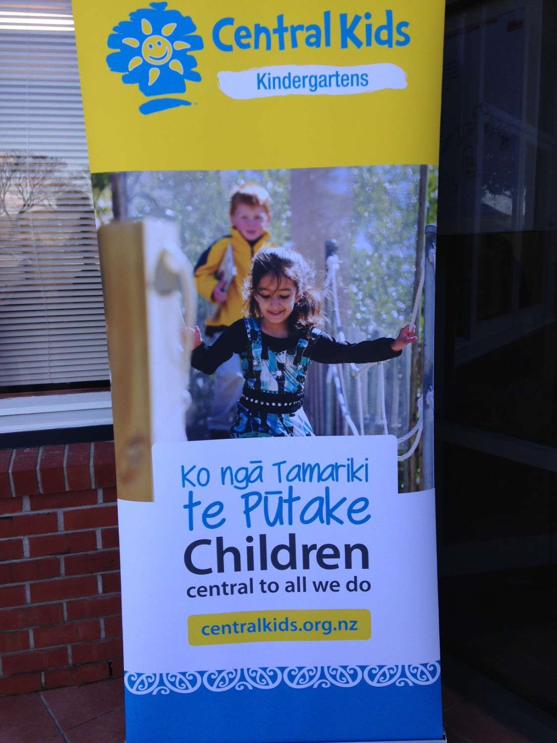 Helping out the Kindy!