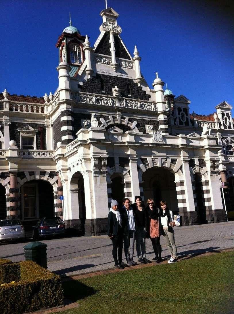 Otago Uni Visit
